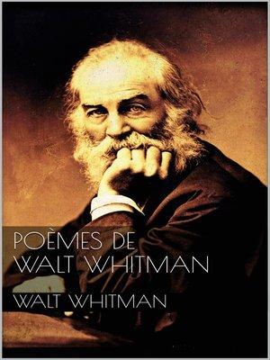 cover image of Poèmes de Walt Whitman