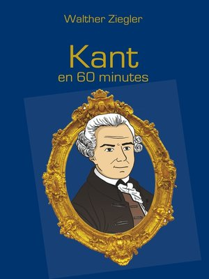cover image of Kant en 60 minutes