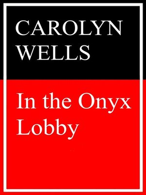 cover image of In the Onyx Lobby