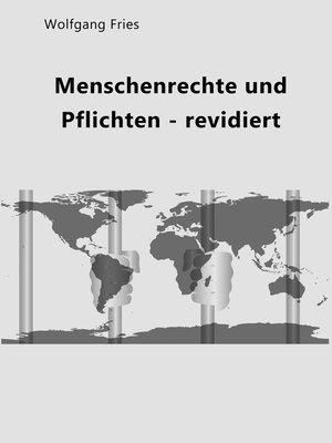 cover image of Menschenrechte und Pflichten--revidiert