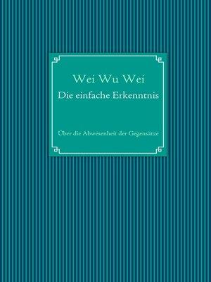 cover image of Die einfache Erkenntnis