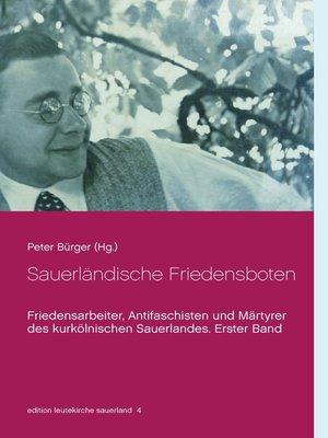 cover image of Sauerländische Friedensboten