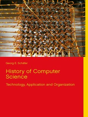cover image of History of Computer Science