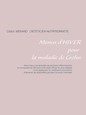 cover image of Menus d'hiver pour la maladie de Crohn