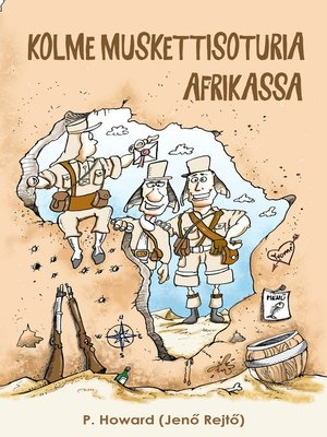 cover image of Kolme muskettisoturia Afrikassa