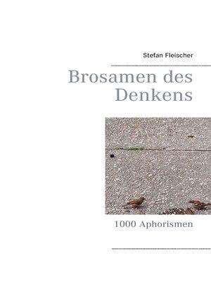 cover image of Brosamen des  Denkens