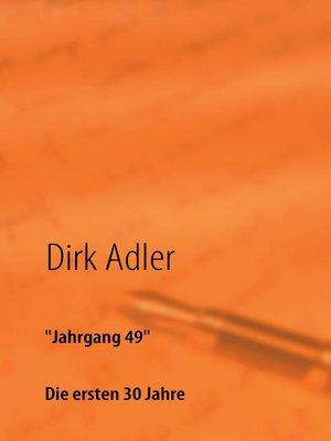 "cover image of ""Jahrgang 49"""