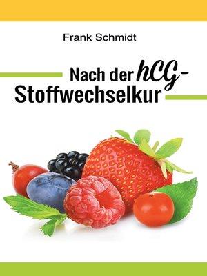 cover image of Nach der hCG-Stoffwechselkur
