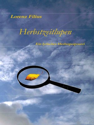cover image of Herbstzeitlupen