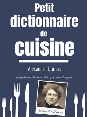 cover image of Petit Dictionnaire de Cuisine