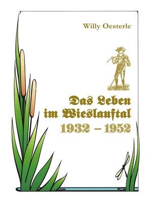 cover image of Das Leben im Wieslauftal