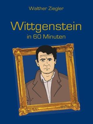 cover image of Wittgenstein in 60 Minuten