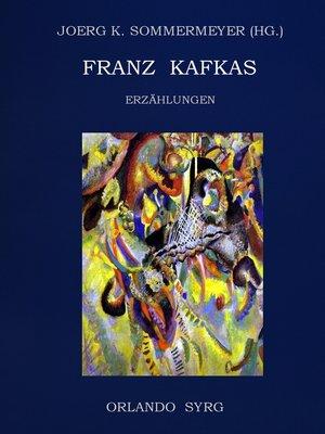 cover image of Franz Kafkas Erzählungen
