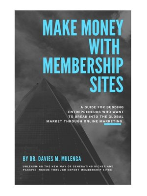 cover image of Make Money with Membership Sites