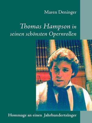 cover image of Thomas Hampson in seinen schönsten Opernrollen
