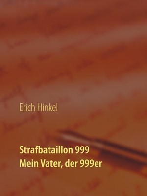 cover image of Strafbataillion 999
