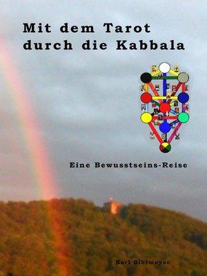 cover image of Mit dem Tarot durch die Kabbala