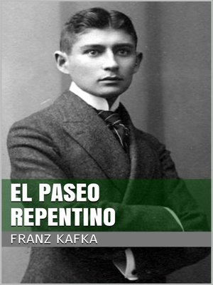 cover image of El paseo repentino