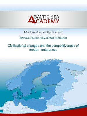 cover image of Civilizational changes and the competitiveness of modern enter-prises