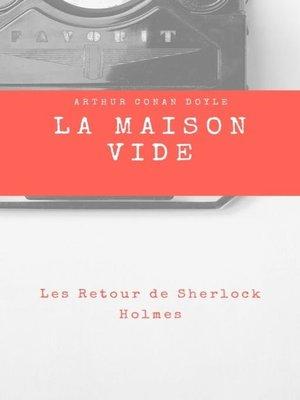 cover image of La Maison Vide