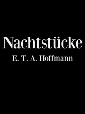 cover image of Nachtstücke