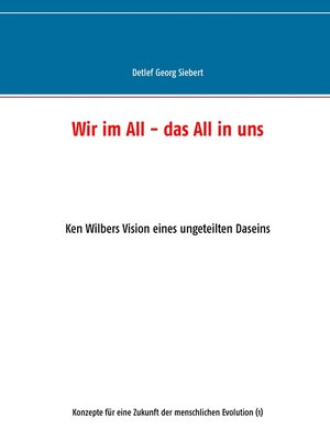cover image of Wir im All--das All in uns