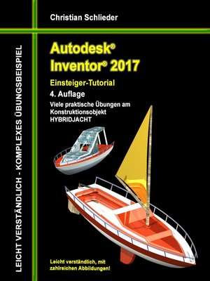 cover image of Autodesk Inventor 2017--Einsteiger-Tutorial Hybridjacht