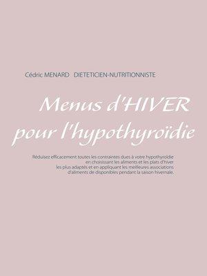 cover image of Menus d'hiver pour l'hypothyroïdie