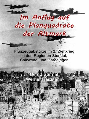 cover image of Im Anflug auf die Planquadrate der Altmark