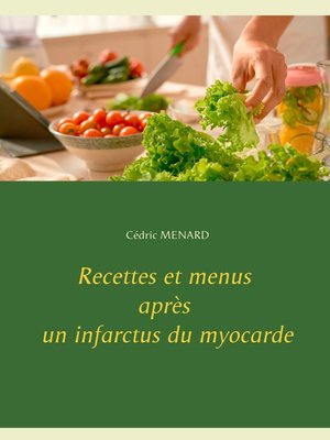 cover image of Recettes et menus après un infarctus du myocarde