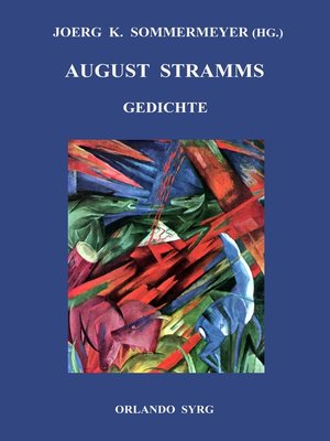 cover image of August Stramms Gedichte