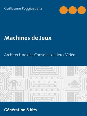 cover image of Machines de Jeux