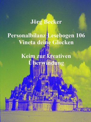 cover image of Personalbilanz Lesebogen 106 Vineta deine Glocken