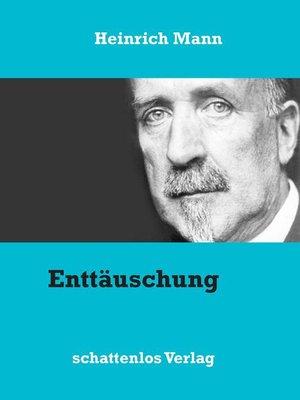 cover image of Enttäuschung