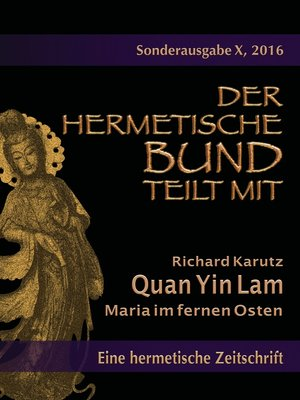 cover image of Quan Yin Lam--Maria im fernen Osten