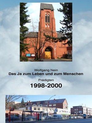 cover image of Das Ja zum Leben und zum Menschen, Band 6