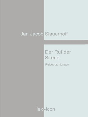 cover image of Der Ruf der Sirene