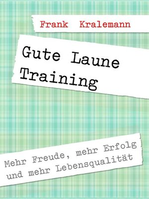 cover image of Gute Laune Training
