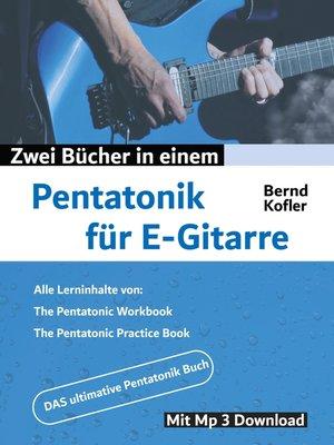 cover image of Pentatonik für E-Gitarre