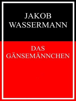 cover image of Das Gänsemännchen
