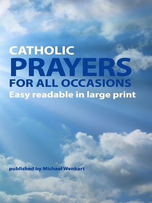 cover image of Catholic Prayers for all occasions