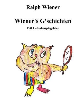 cover image of Wiener's G'schichten