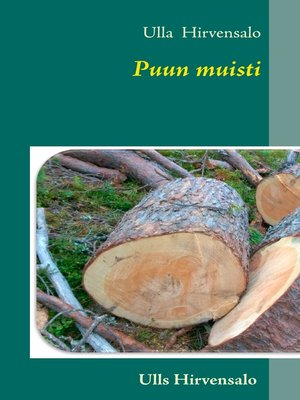 cover image of Puun muisti