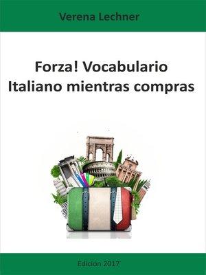 cover image of Forza! Vocabulario