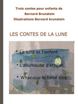 cover image of Les contes de la lune