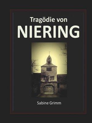 cover image of Tragödie von Niering