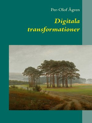 cover image of Digitala transformationer