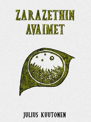 cover image of Zarazethin avaimet