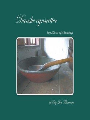 cover image of Danske Egnsretter