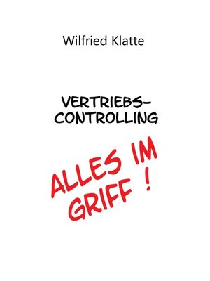 cover image of Vertriebscontrolling
